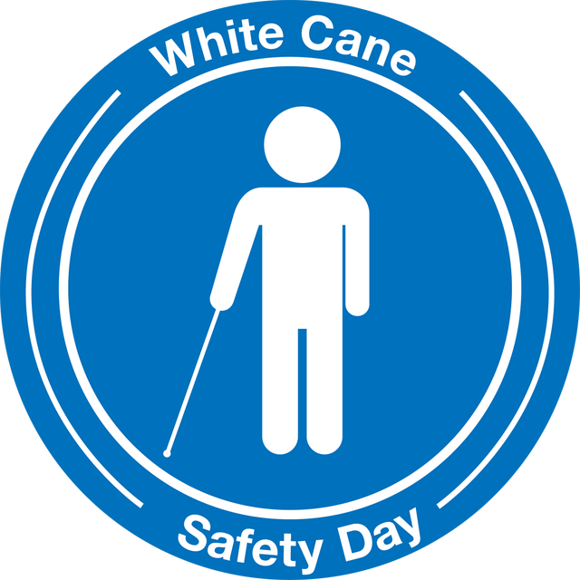 White Cane Safety Day Clipart
